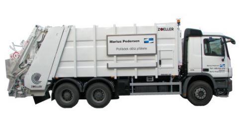 Váha pro svoz odpadu - vestavba vážícího zařízení do vozidel pro svoz odpadu