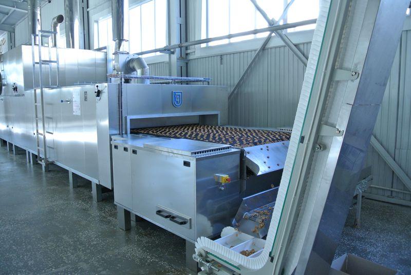 Stavebnicové pekařské pásové pece pro malé pekárny a výrobní kombináty