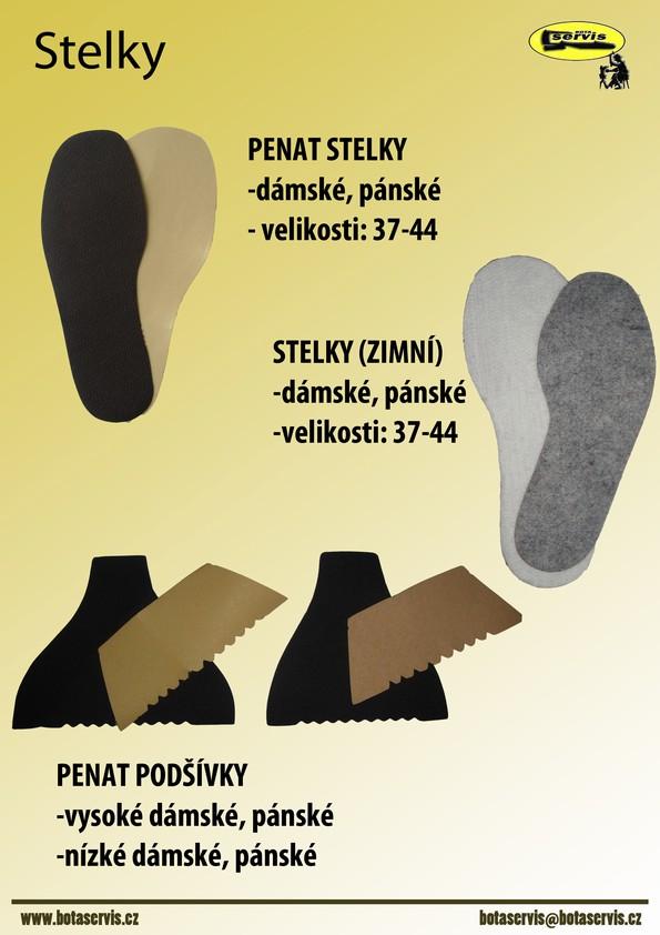 Oprava obuvi na klíč , obuvnický materiál Zlín, Vizovice