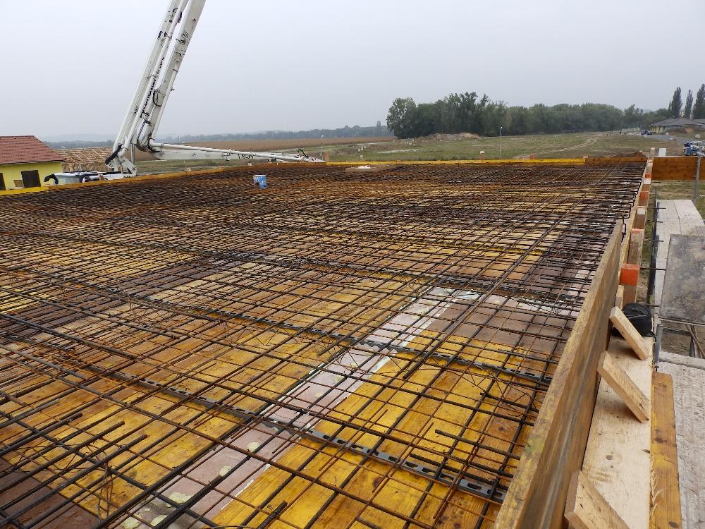 Stavební práce - realizace stropů pomocí kvalitních monolitických konstrukcí