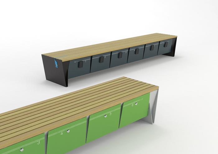 parková lavička Eblocq