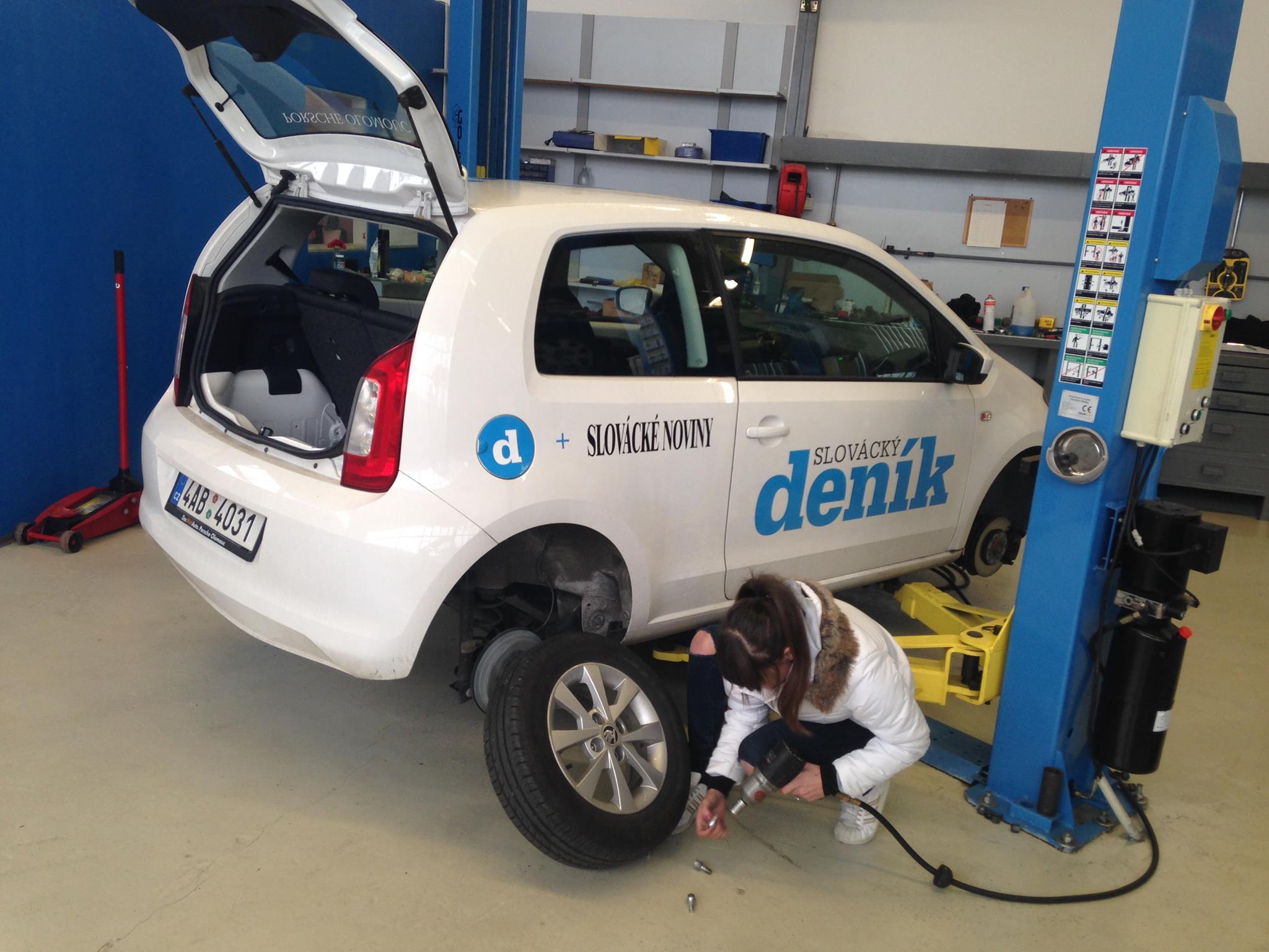 Přezutí vozidla na zimní pneumatiky - přezouvání pneumatik