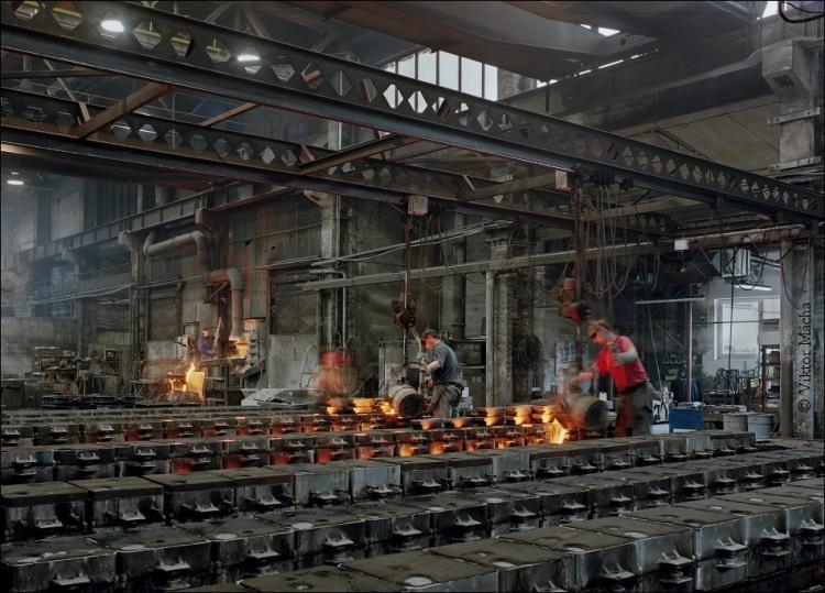 Slévárna – odlitky šedé litiny a barevných kovů hliník a bronz