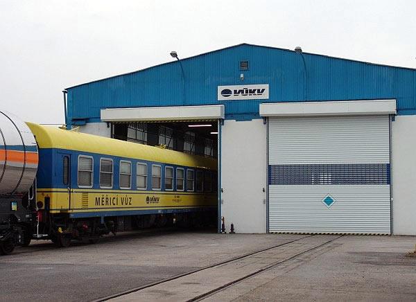 Akreditovaná zkušebna kolejových vozidel, kontejnerů a jejich částí