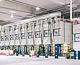 Technologie, výrobní zařízení a stroje pro výrobu tapet, největší dodavatel