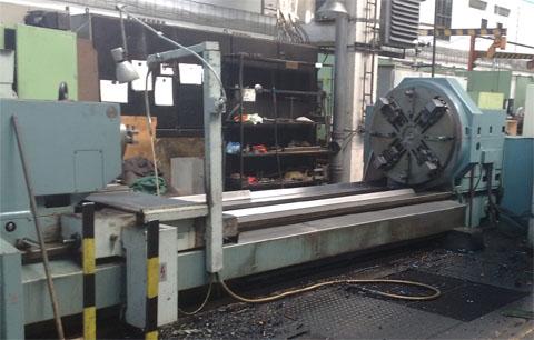 Generální opravy a modernizace těžkých strojů a řídicích center - CNC stroje, soustruhy, frézy