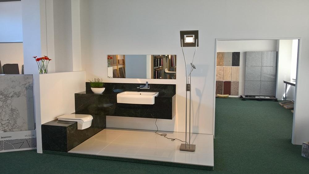 vybavení koupelny z kamene