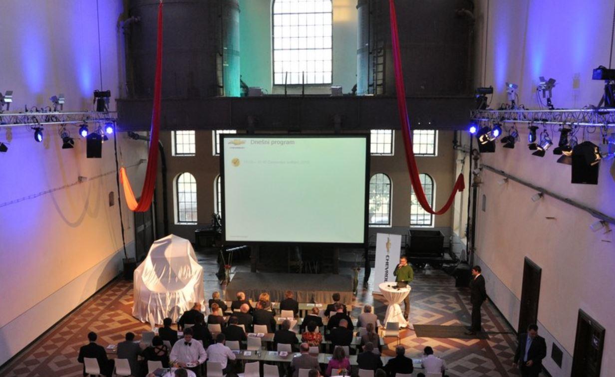 Zajištění osvětlení menších i velkých akcí Praha včetně odborné obsluhy