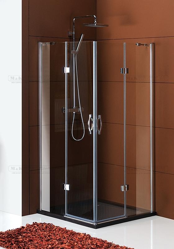 Variabilní sprchový čtvrtkruhový kout s unikátním těsněním Topseal