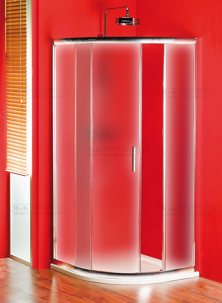 Sprchový kout čtvercový - sklo čiré