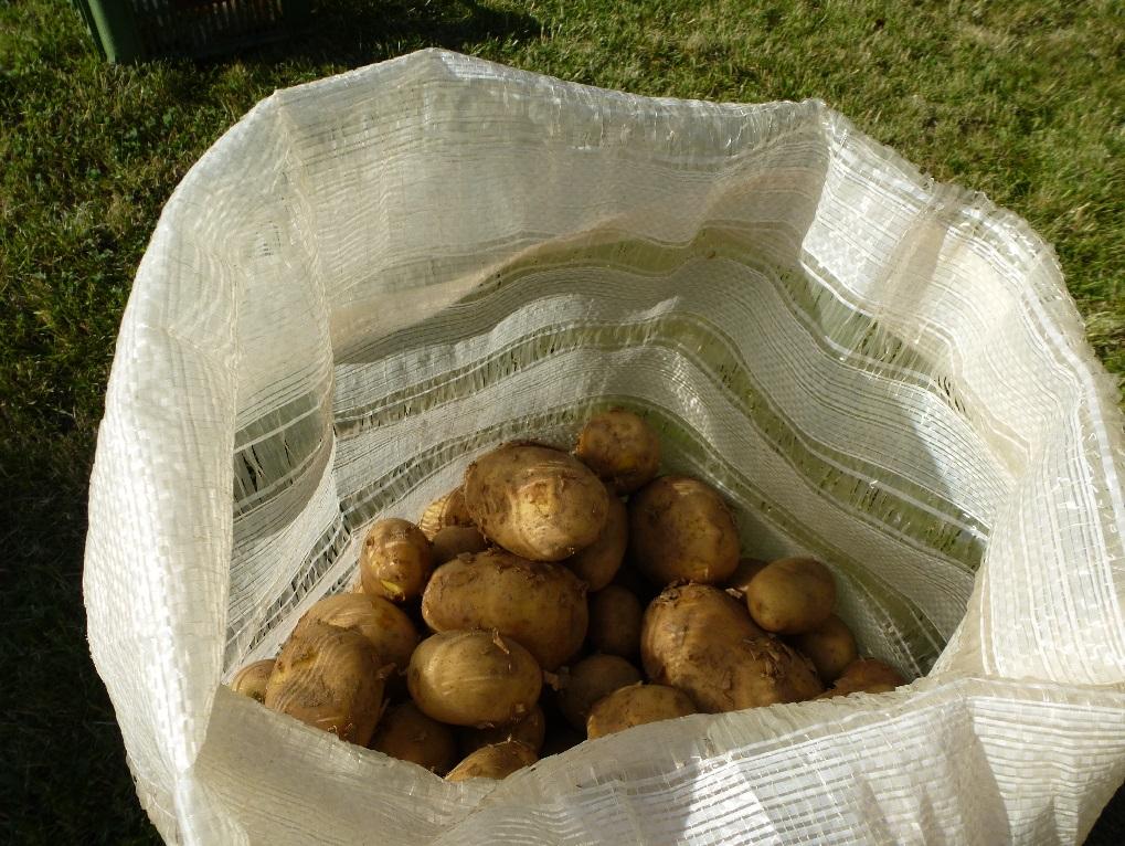 Pytle na uskladnění brambor a zeleniny