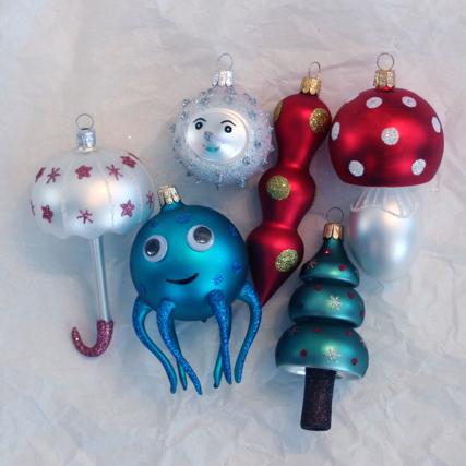 Exkurze do výroby vánočních ozdob, ruční výroba skleněných foukaných ozdob