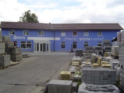 Stavebniny zdící materiál kanalizace betonové výrobky Jičín