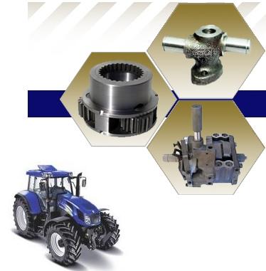 INDIE; Díly na traktory