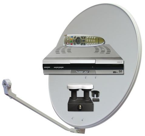 Anténní satelitní technika terestriální přijímače Nová Paka
