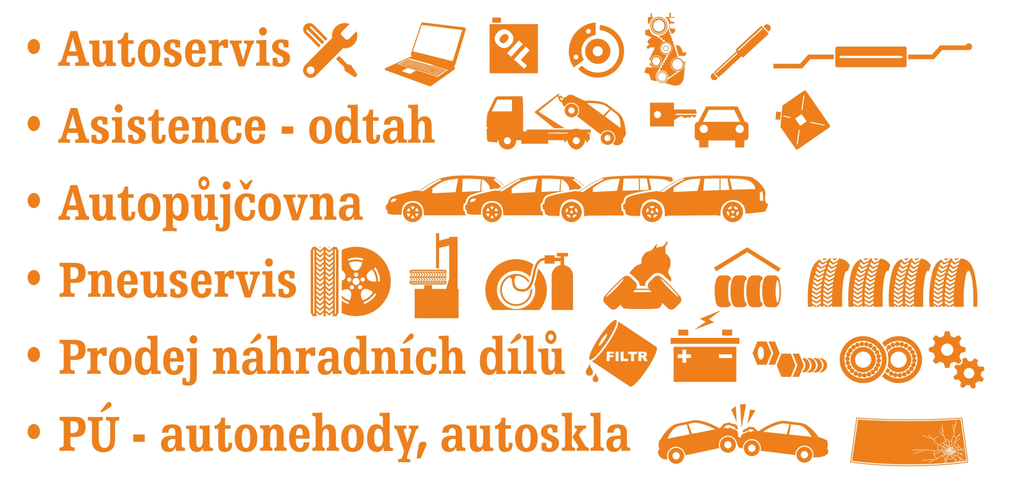 Autoservis, pneuservis, pojistné události Hranice, Přerov