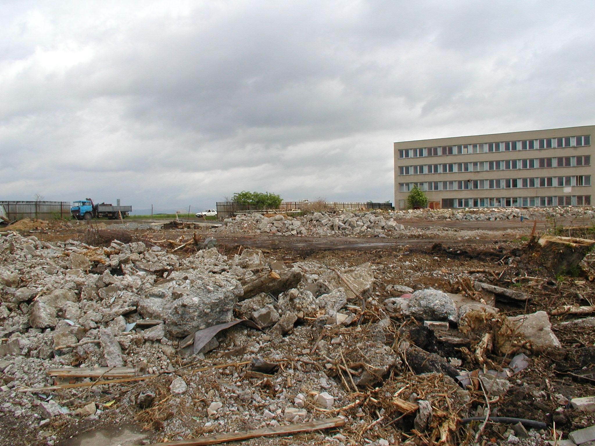 Demolice, zemní práce, sanace Havířov, Ostrava