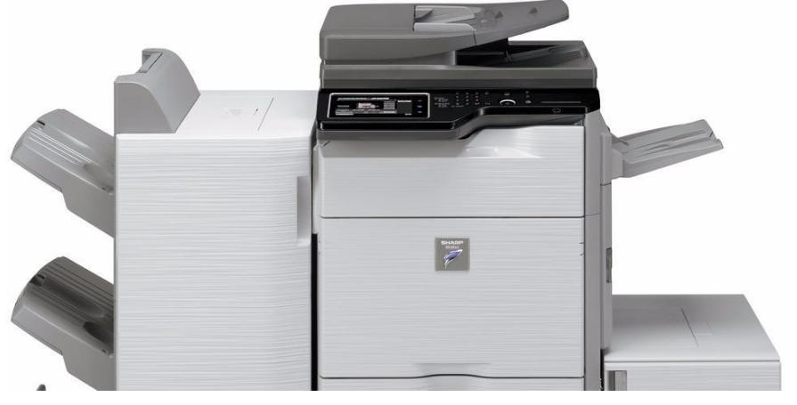 A3 černobílé kopírky, kopírovací stroje Sharp - pronájem i prodej