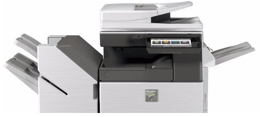 A3 barevné kopírky, tiskárny, multifunkční zařízení značky SHARP - prodej a pronájem