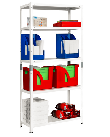 Manufacture of metal shelving racks screwless and screwed schelving systems, the Czech Republic