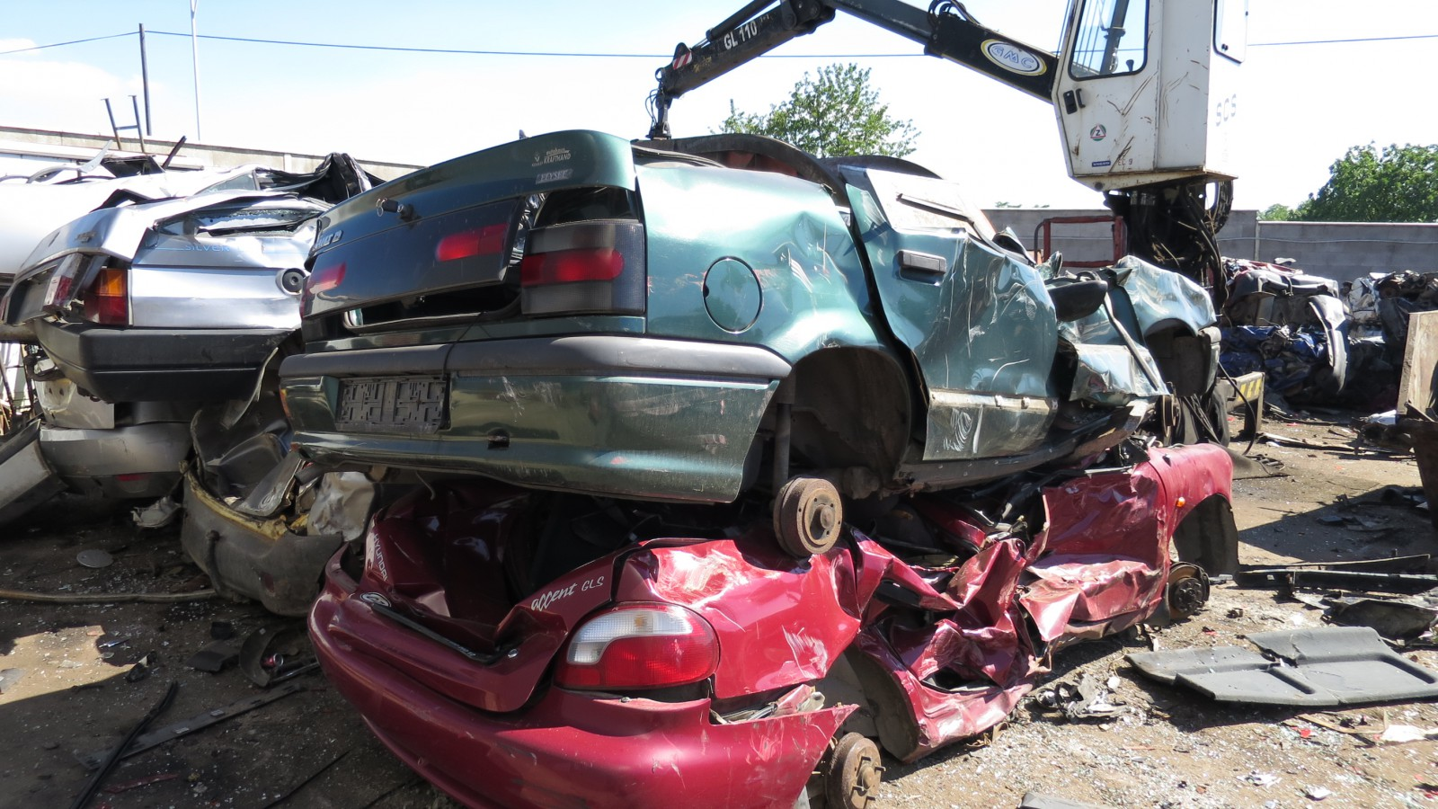 Ekologická likvidace autovraků - snadno, rychle a bez starostí