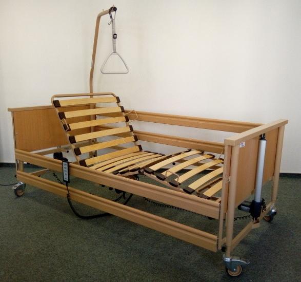 Půjčovna a pronájem polohovacích elektrických postelí a pečovatelských lůžek