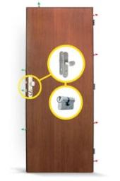 bezpečnostní dveře Sherlock - montáže Kroměříž