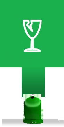 Třídění skla – barevné kontejnery pro efektivní opětovnou recyklaci