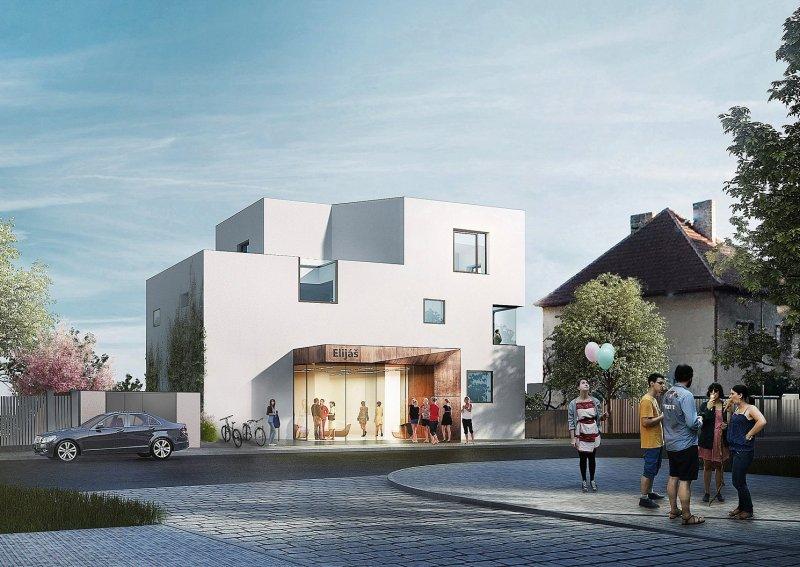 Nová budova pro Křesťanskou střední školu, základní školu a mateřskou školu Elijáš