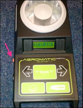 Přístroj k měření vlhkosti plodin - Agricomputer