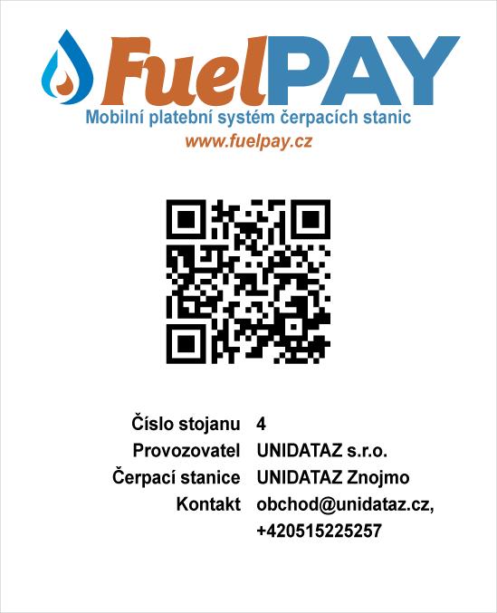 Nový způsob platby za pohonné hmoty pomocí mobilního telefonu