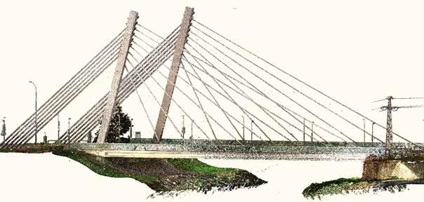 Laserové skenování mostních konstrukcí
