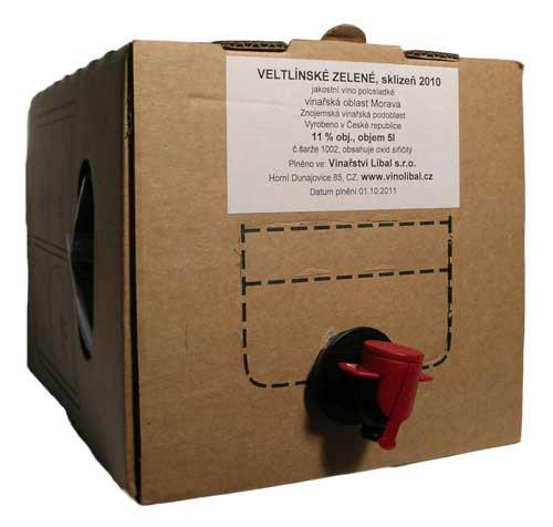 Bag in box - Veltlínské zelené