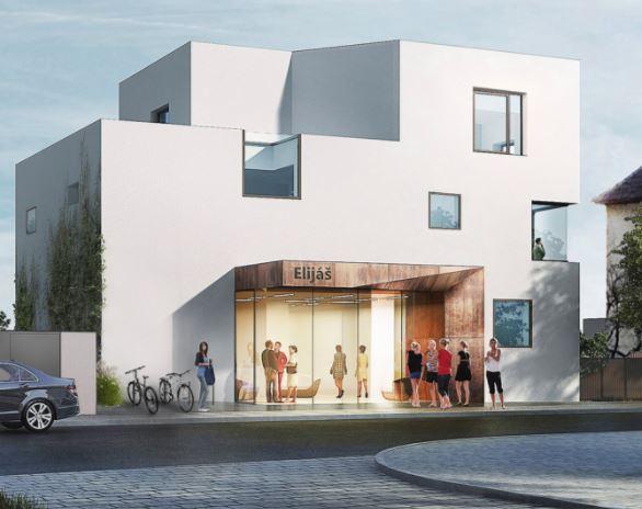 V BB Centru roste budova pavilonu pro křesťanskou školu Elijáš