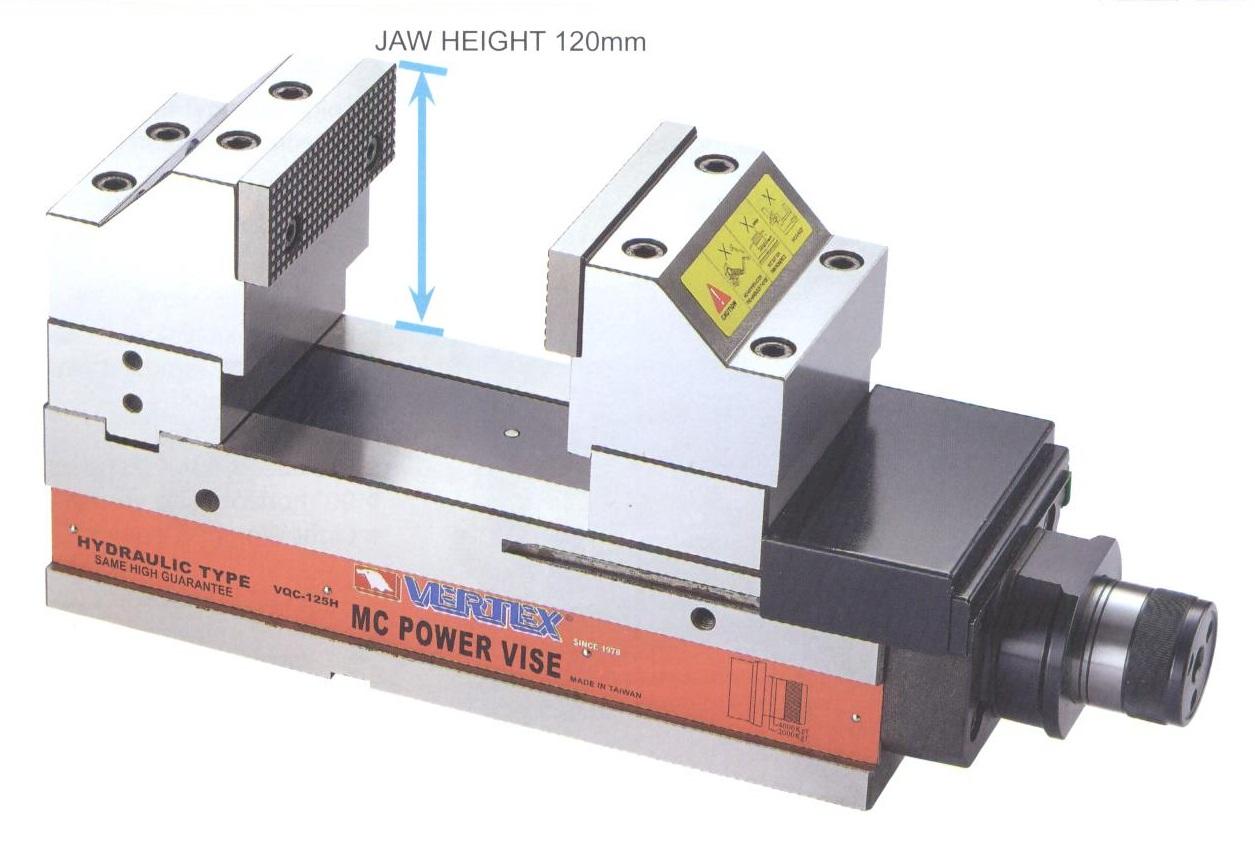 hydraulický svěrák pro 5-osé obrábění VQHJ-5