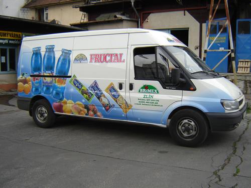 fóliová reklama - polepy aut Zlín