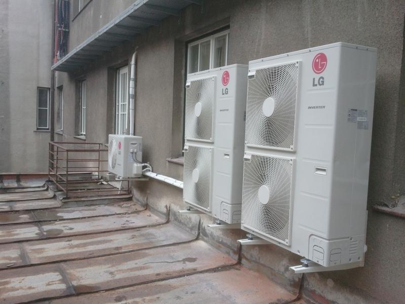 Kompletní dodávky vzduchotechniky