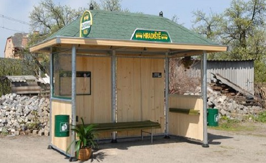 Autobusové zastávky - výroba Šumperk, Zábřeh