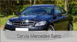 Kvalitní servis vozů Mercedes-Benz - snadno, rychle a bez starostí