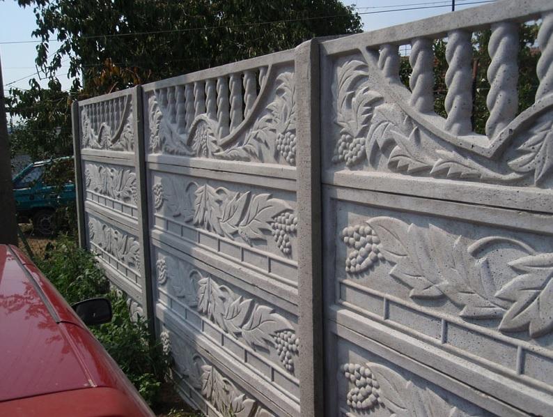 Levné betonové ploty - Praha, Brno