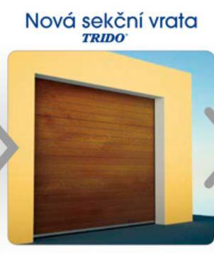 Sekční garážová vrata Trido Evo - montáž Kladno