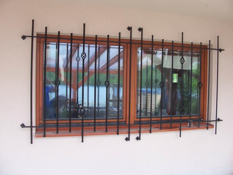 kované mříže na okna - Zlínský kraj