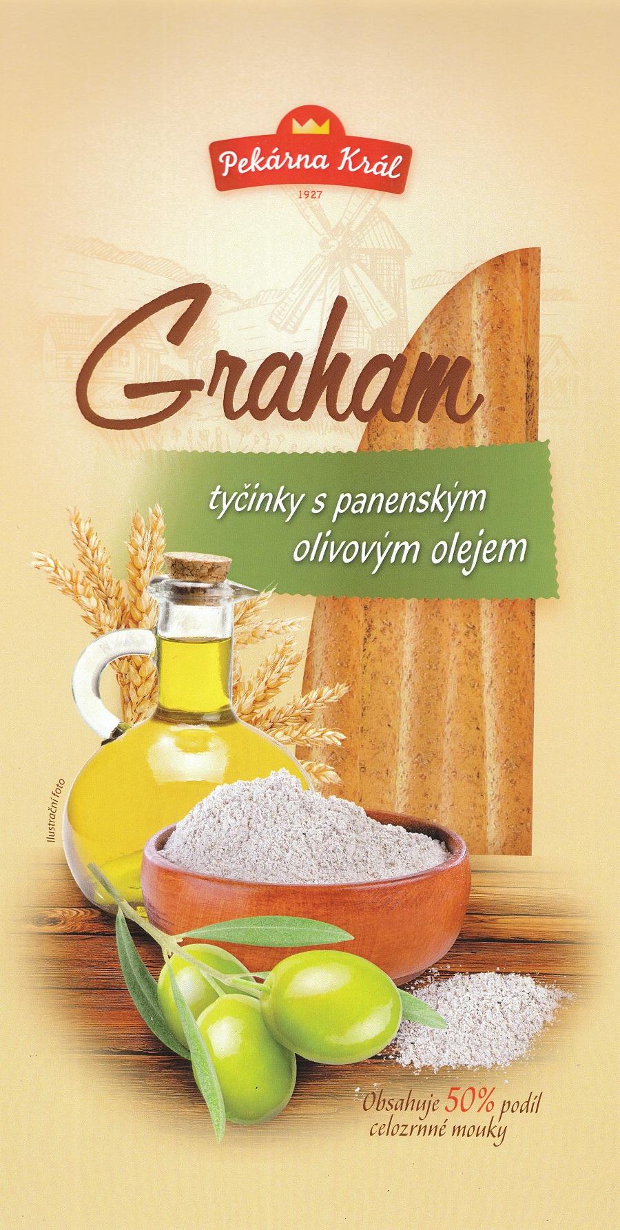 Grahamové tyčinky a italské tyčinky Grissini - to pravé pochutnání na silvestra