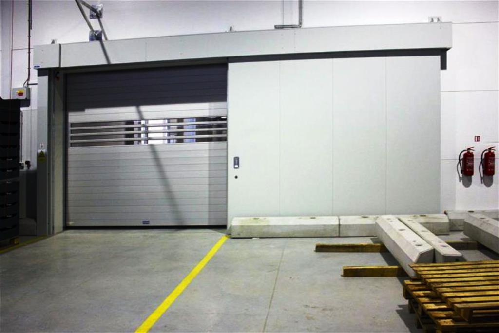 Protipožární uzávěry Olomouc, Prostějov - požární vrata do průmyslových objektů