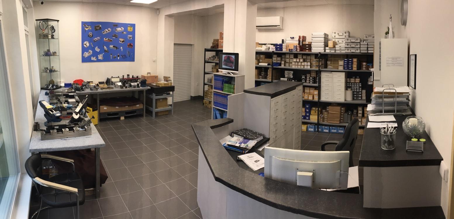 vybavení do kovoobráběcích dílen - prodejna Vizovice, Zlín