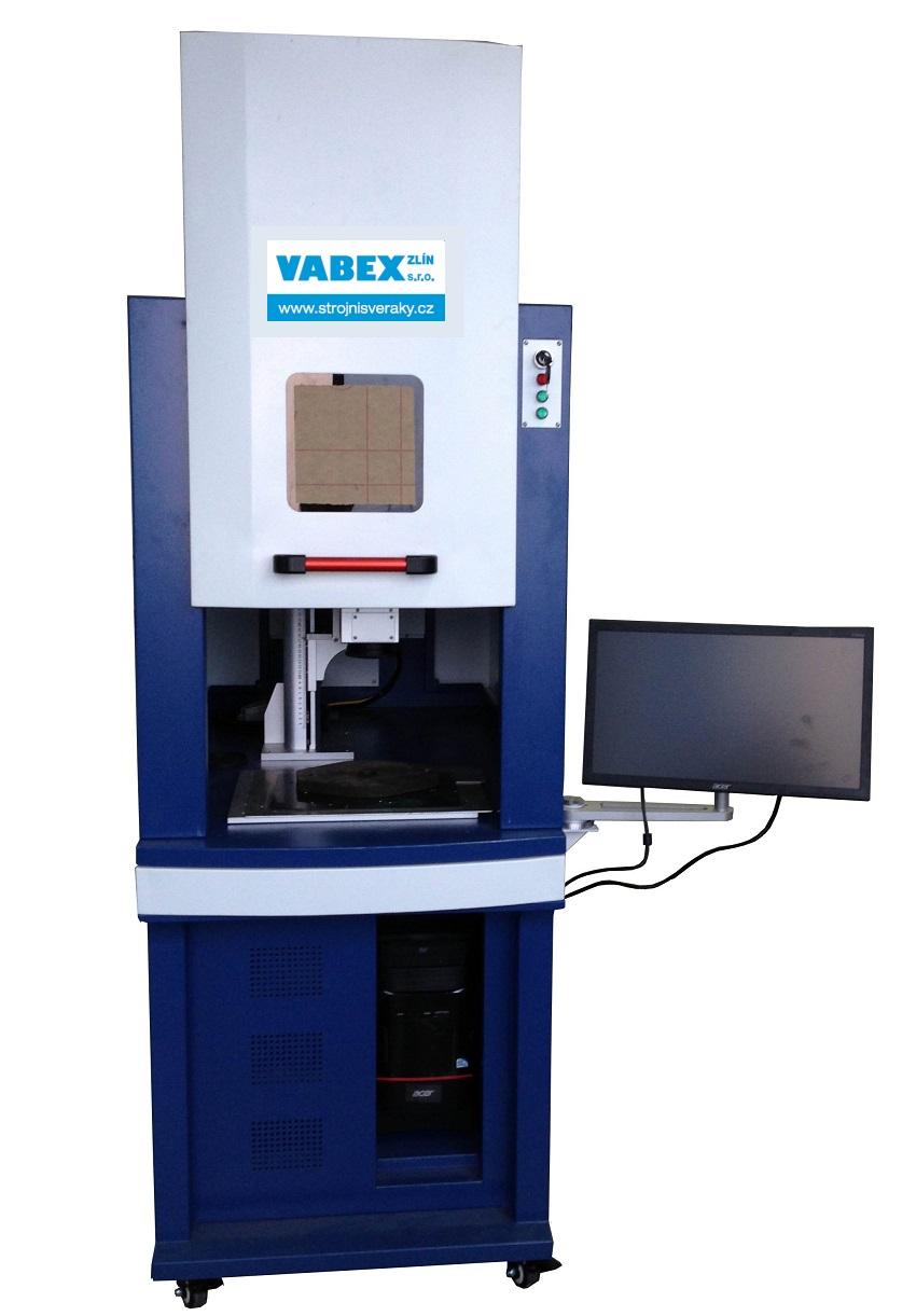 průmyslové značení - popisovací vláknový laser krytovaný