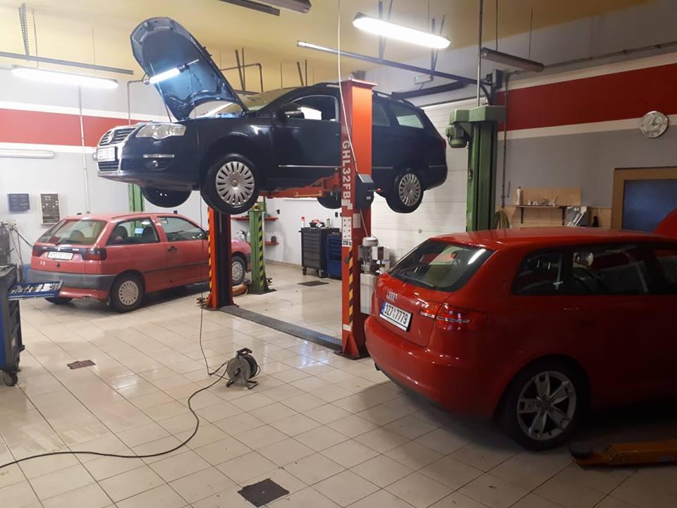 Opravna automobilů - autoservis a pneuservis