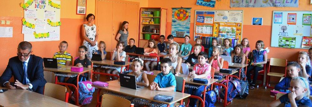 Základní škola v Brně zaměřující se na sport, výuku cizích jazyků a interaktivní technologie