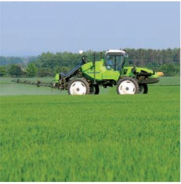 Ochrana rostlin fungicidy a herbicidy