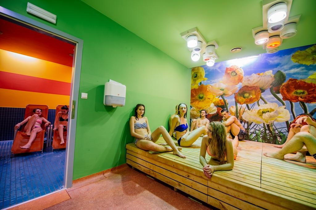 Suchá finská sauna